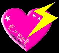 E-set heart